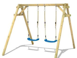 Alle voordelen van een houten schommel op een rijtje