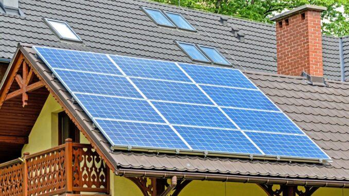 Energieverbruik verlagen met zonnepanelen