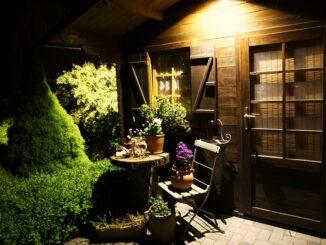 licht tuin