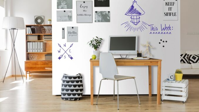 Meer woonplezier met een whiteboard
